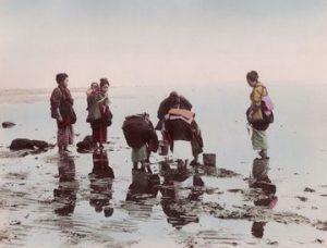 Les ramasseuses de coquillages - vers 1880