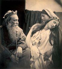 Julia Margaret CAMERON Le reine Esther devant le roi Ahasuerus 1865
